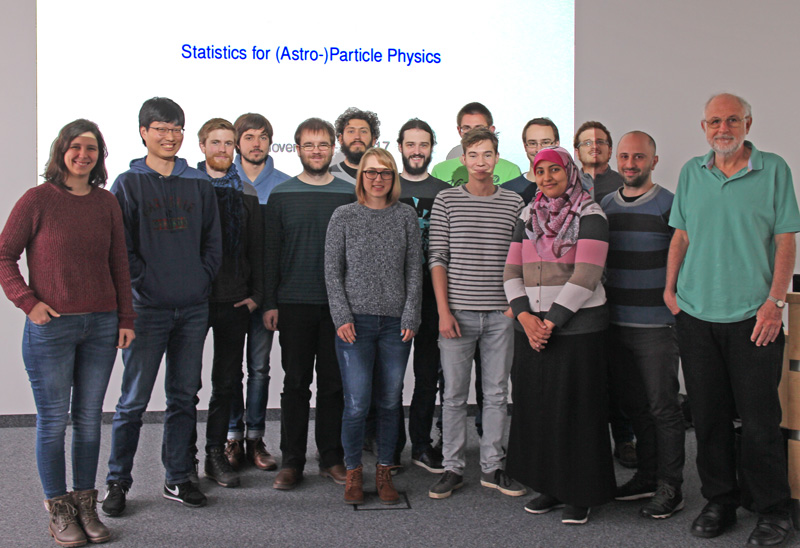 Course Participants together with Ricardo Piegaia and Dario Rodrigues